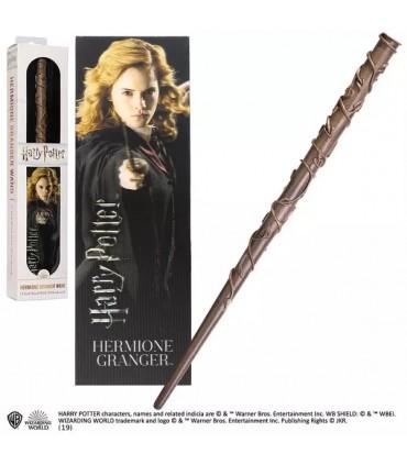 Varita Mágica y Punto de Libro 3D Hermione Granger