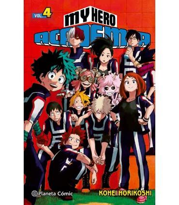 My Hero Academia nº 04