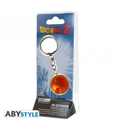 Llavero Dragon Ball 3D Bola Número 4