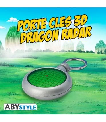 Llavero Dragon Ball Z, radar Con luz y sonido