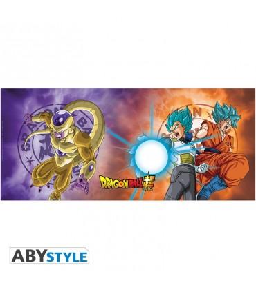 DRAGON BALL SUPER Taza Saiyans VS Frieza