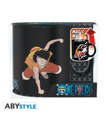 Taza térmica Luffy y Ace One Piece