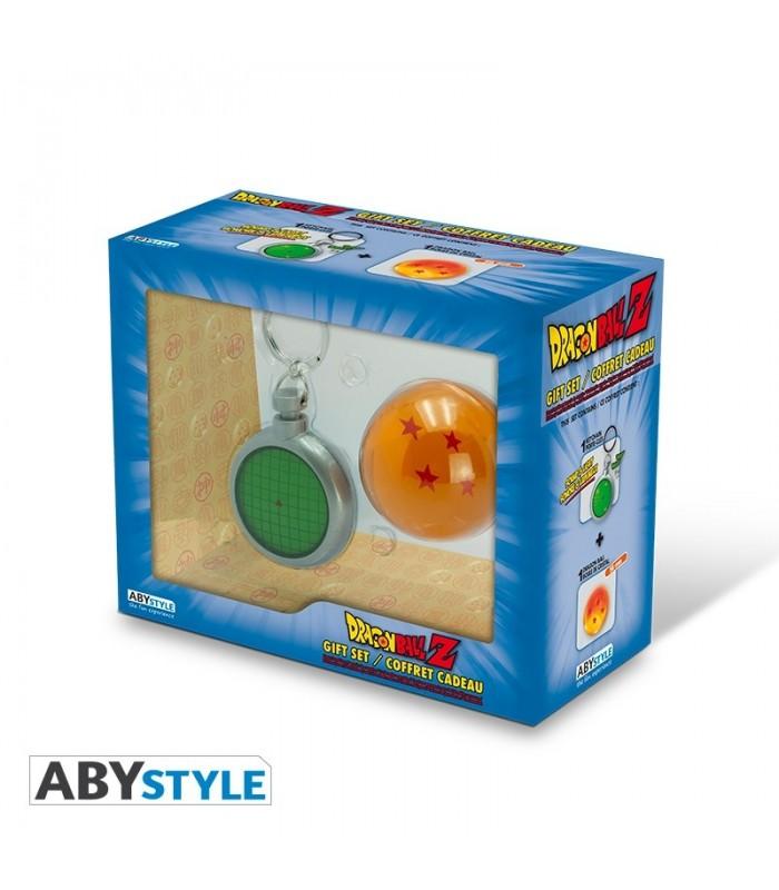 Pack regalo Llavero Dragon Ball Z radar con luz y sonido + Bola 4 estrellas