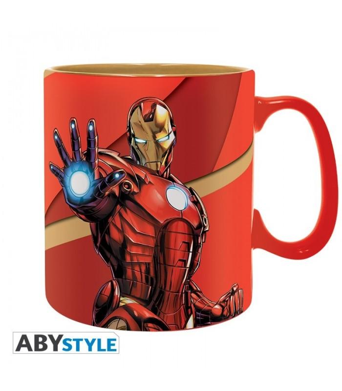Taza Iron Man Armored Marvel