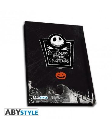 Pesadilla Antes de Navidad Caja de Regalo de Jack - Taza 320 ml + Llavero + Cuaderno
