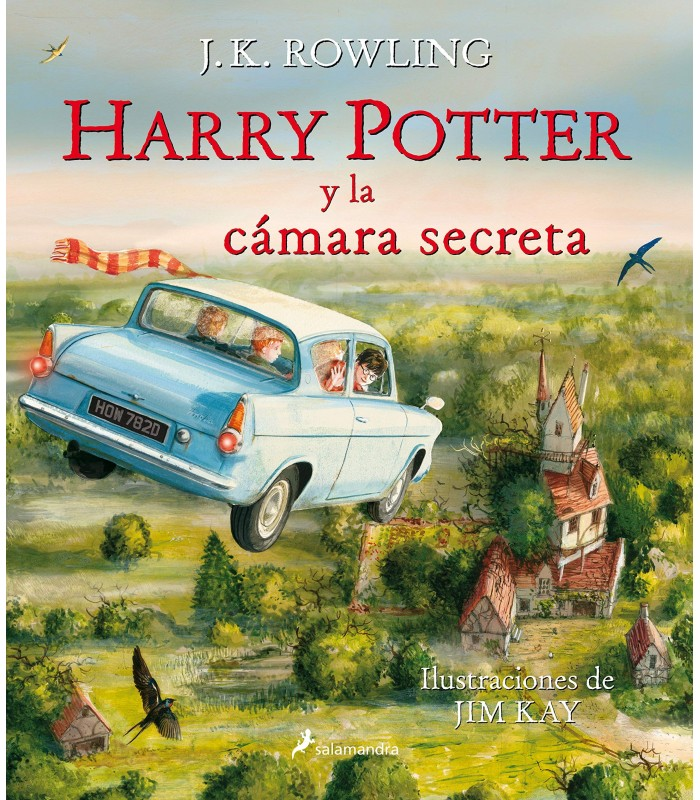 HARRY POTTER Y LA CAMARA SECRETA (HP2) (EDICION ILUSTRADA