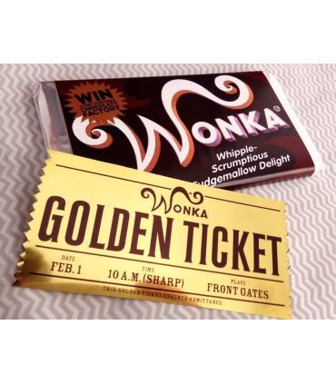 Tableta Chocolate Wonka. Charlie y la Fábrica de Chocolate