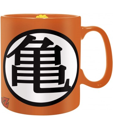 Taza símbolos Kame y Go Dragon Ball