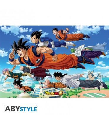 DRAGON BALL SUPER Poster Groupe Goku