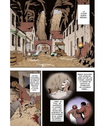 ATAQUE A LOS TITANES: NO REGRETS 1 (COLOR)