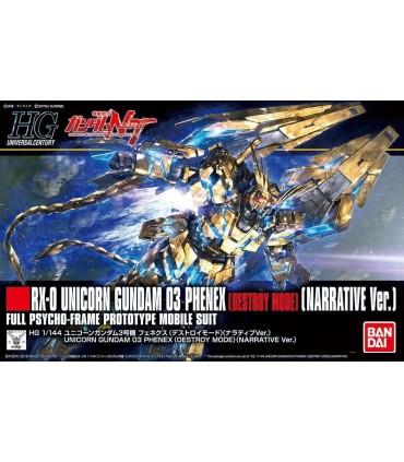 Gundam Unicorn High Grade UC Gundam 03 Phenex Destroy Mode 1/144