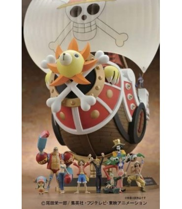 THOUSAND SUNNY NEW WORLD VER. MODEL KIT FIGURA 30 CM ONE PIECE HI-END SHIPS