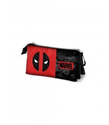 Portatodo Deadpool Marvel triple