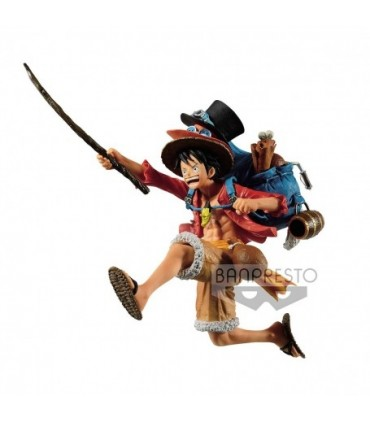 MONKEY D. LUFFY VER. A ONE PIECE THE THREE BROTHERS