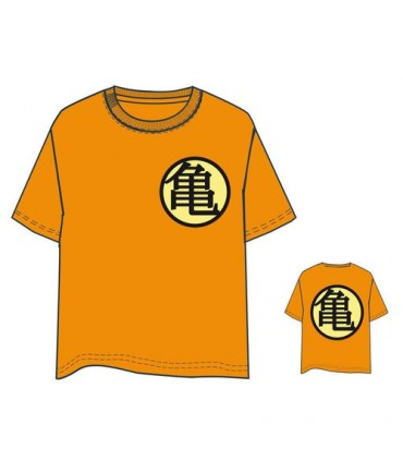 Camiseta Dragon Ball naranja adulto