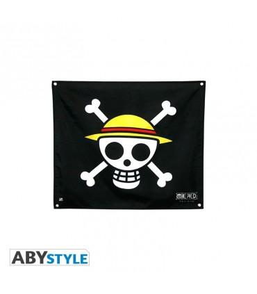 One Piece Skull Luffy Bandera diseño de Calavera