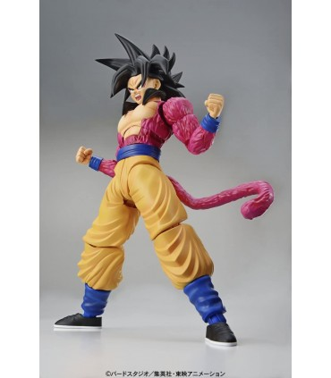 SON GOKU SUPER SAIYAN 4 MODEL KIT DRAGON BALL GT FIGURE-RISE STANDARD